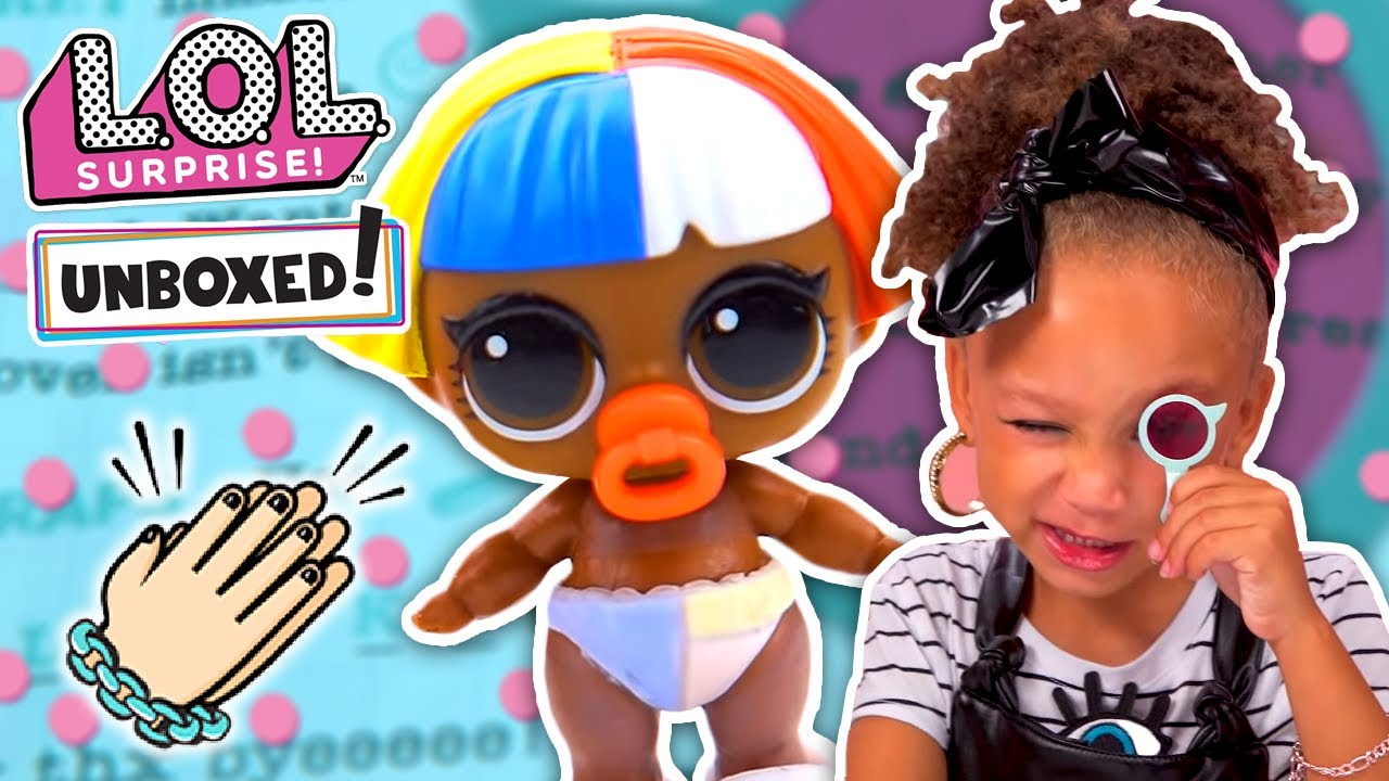 Unboxed Lol Surprise Season 3 Episode 2 Eye Spy Lil Sisters