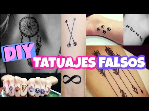 Diy Como Hacer Tatuajes Falsos En Casa Y Que Parezcan Reales