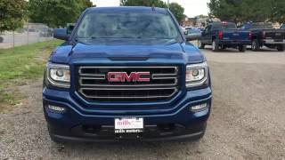2017 GMC Sierra 1500 SLE 4WD Double Cab Elevation Kodiak Package Blue Oshawa ON Stock #170175