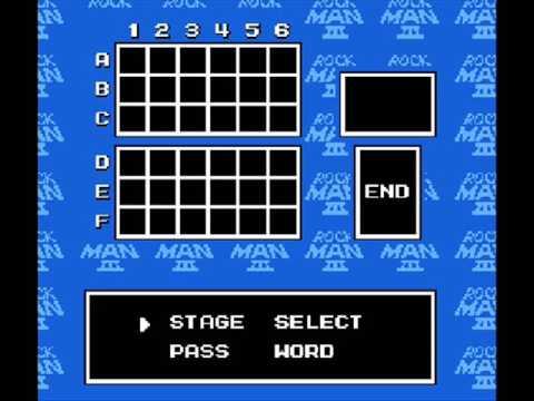 Megaman 3 - Password