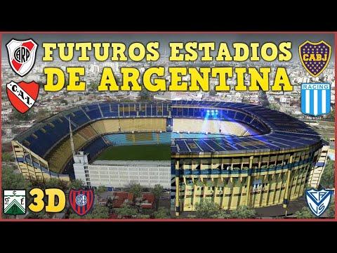 Futuros Estadios Argentinos (Parte 1)