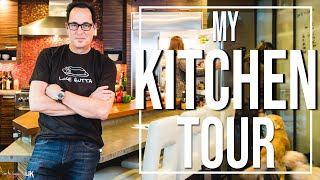 Tour of My Kitchen | SAM THE COOKING GUY 4K