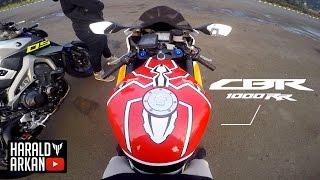 Testride Honda CBR 1000RR #motovlog