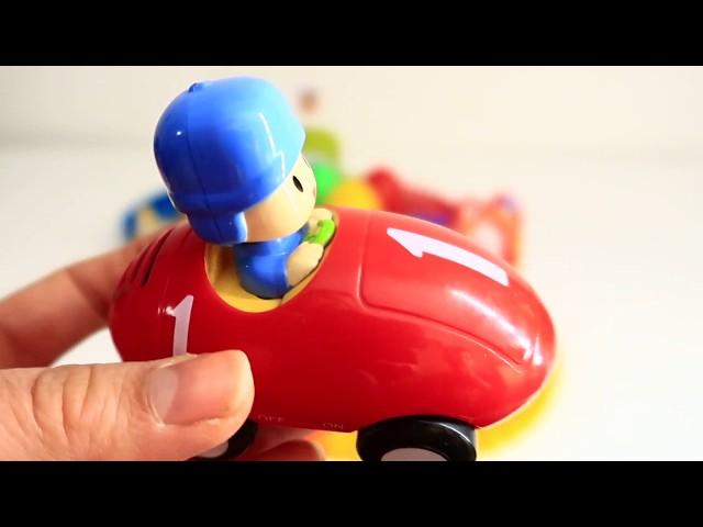 Pocoyo Super Circuit Race Track Baby Toys