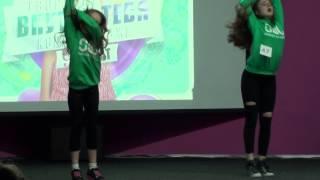 Хип-хоп дуэт/Hip-Hop Duo - Лиза и Соня/Dance School SOL/Кубок 9 комнат (весна-2015). Сумы