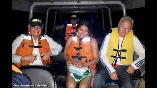 Rescatan a Manuel Elkin Patarroyo en el río Amazonas