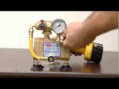 Reed Manufacturing Drill Powered Hydrostatic Test Pump