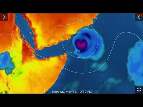 Global Weather/Earthquake Update/Cyclone #2 Forms for Yemen/5.6 EQ Guam 5/21/2018