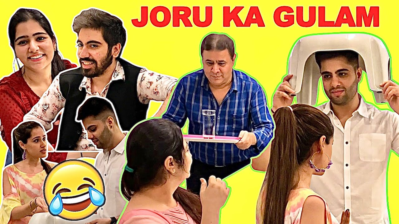 TREATING our HUSBANDS like JORU KA GHULAM for 24 Hours | That Glam Couple