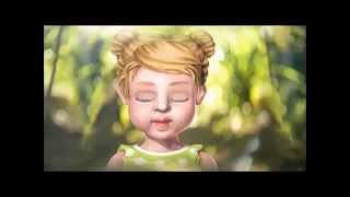 Части лица : обучающий мультфильм для малышей! Часть 1.