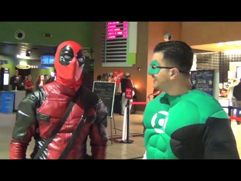 DEADPOOL vs GREEN LANTERN! Ryan Reynolds Superhero Parody