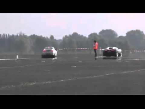 Bugatti Veyron vs BMW M3 1