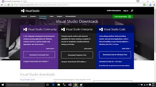 How to Download and Install Visual Studio 2015 Enterprise on Windows 10