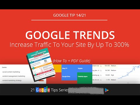 How to use Google Trends - To Use Google Trends for Local Keyword Research