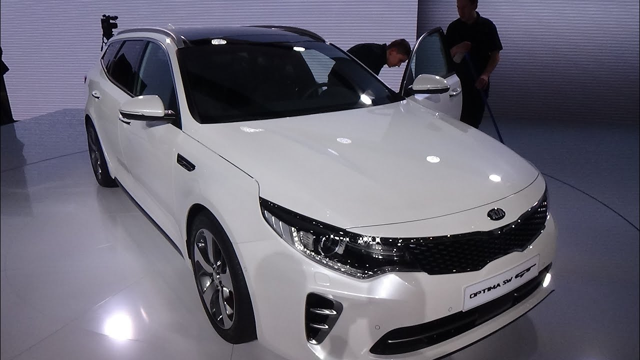 2017 kia optima sw gt exterior and interior geneva motor show 2016 youtube. Black Bedroom Furniture Sets. Home Design Ideas