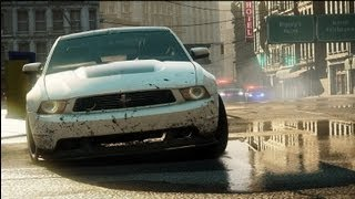Need for Speed: Most Wanted  Ford mustang Chase