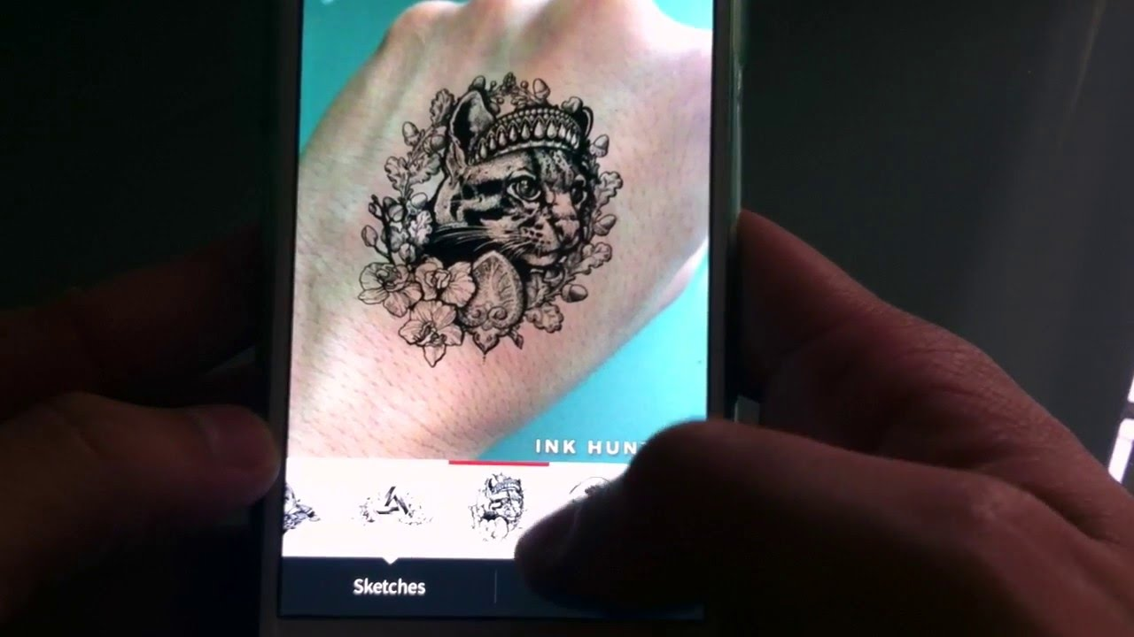 Tatuajes Del Tiempo app para diseñar tatuajes en tiempo real - youtube