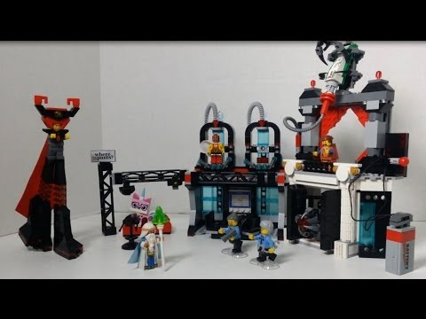 Lord Business' Evil Lair - Lego Movie set 70809 - Unboxing, Build & Review!