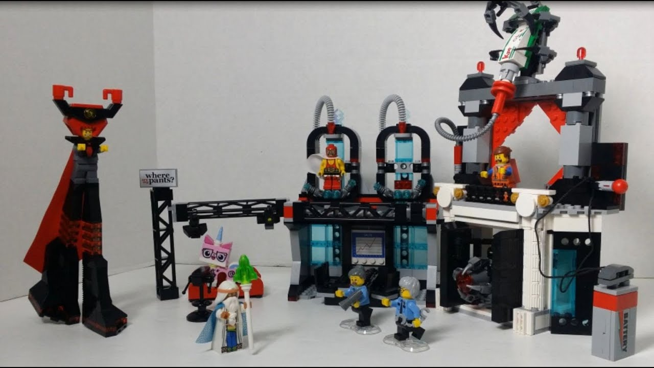 Lego Movie Lord Business Evil Lair Build