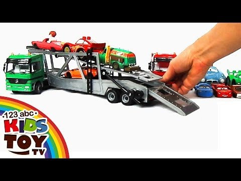 Thumbnail: = Сar transporters Car for KIDS. TOYS = ☺123abc Kids Toy TV = Mercedes-Benz