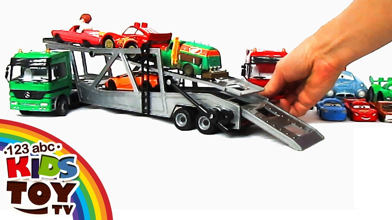 ar transporters car for kids toys 123abc kids toy tv mercedes benz youtube