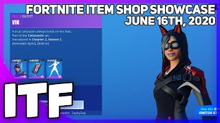 Fortnite Item Shop LAST ITEM SHOP OF THE SEASON! [June 16th, 2020] (Fortnite Battle Royale)