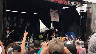 The Amity Affliction - This Could Be Heartbreak (Vans Warped Tour 2018, ATL)