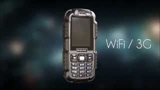 EVOLVEO StrongPhone WiFi(Уникальный продукт в своей категории. Комбинация защищенного телефона с 3G и Wi-Fi точки доступа представляет..., 2014-07-31T14:04:17.000Z)