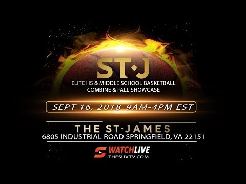 St. James Basketball Showcase & Combine - Part 2 (Scrimmages)