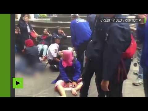 Panique après l'effondrement d'un étage à la bourse de Jakarta