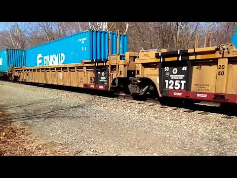 *RARE* PAN AM F9s going through Rollinsford NH hauling freight!!!!