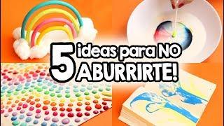 5 Cosas que hacer cuando estás ABURRIDO!! ✄ Barbs Arenas Art!