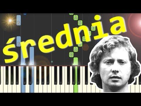 🎹 Dni, których nie znamy (Marek Grechuta) - Piano Tutorial (średnia wersja) 🎹