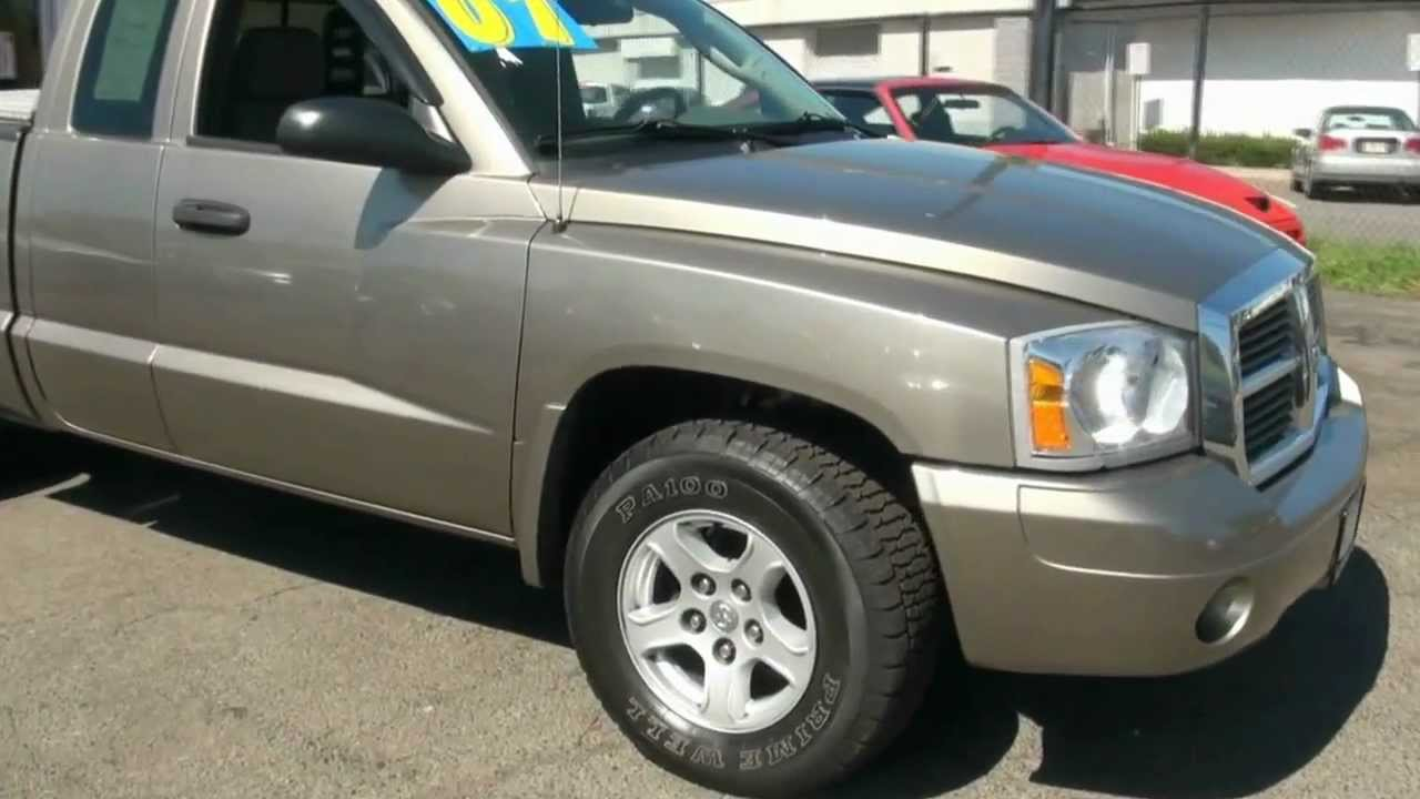 2007 dodge dakota slt quad cab 4wd pick up