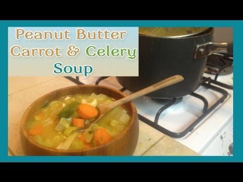 Vegan MoFo: Peanut Butter Vegetable Soup
