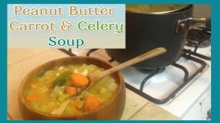 Vegan MoFo: Peanut Butter Vegetable Soup Thumbnail
