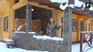 Баня-гостевой дом из клееного бруса. Конструктив