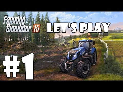 Lets Play Farming Simulator 15 - Episode 1 - Welcome To Bjornholm!
