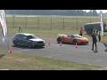 DRAGRACE   450HP Audi RS3 vs Nissan GT-R vs Lamborgini Superleggera, Corvette ZO6 & Lotus Evora 400