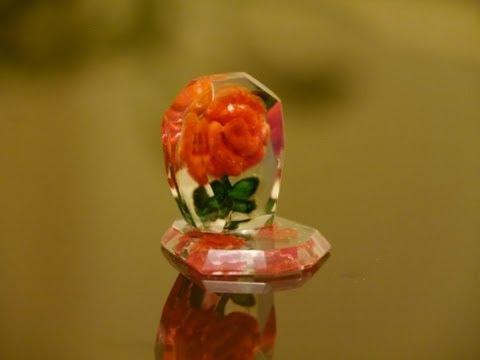"""""""Роза"""" в оргстекле. Цветок из оргстекла. Rose in organic glass"""