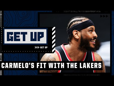 Why Carmelo will be a good fit with LeBron and the Lakers | Get Up