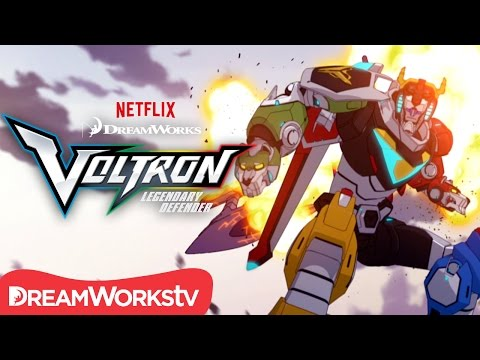 Forming a Legend | DREAMWORKS VOLTRON LEGENDARY DEFENDER