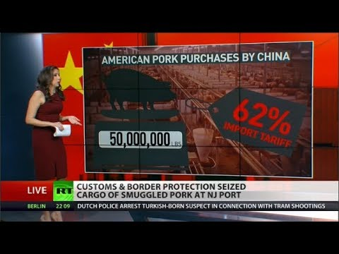 Coming Soon to your Dinner Table: swine fever smuggled Chinese pork?