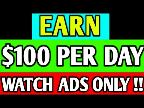 $100 Per Day By Watching Ads, Online Paise Kaise Kamaye 2020, Online Paise Kaise Kamaye Mobile Se