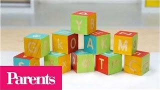 Baby Shower Games: Wooden Blocks