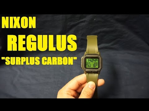 "Nixon Regulus ""Surplus Carbon"" Review"