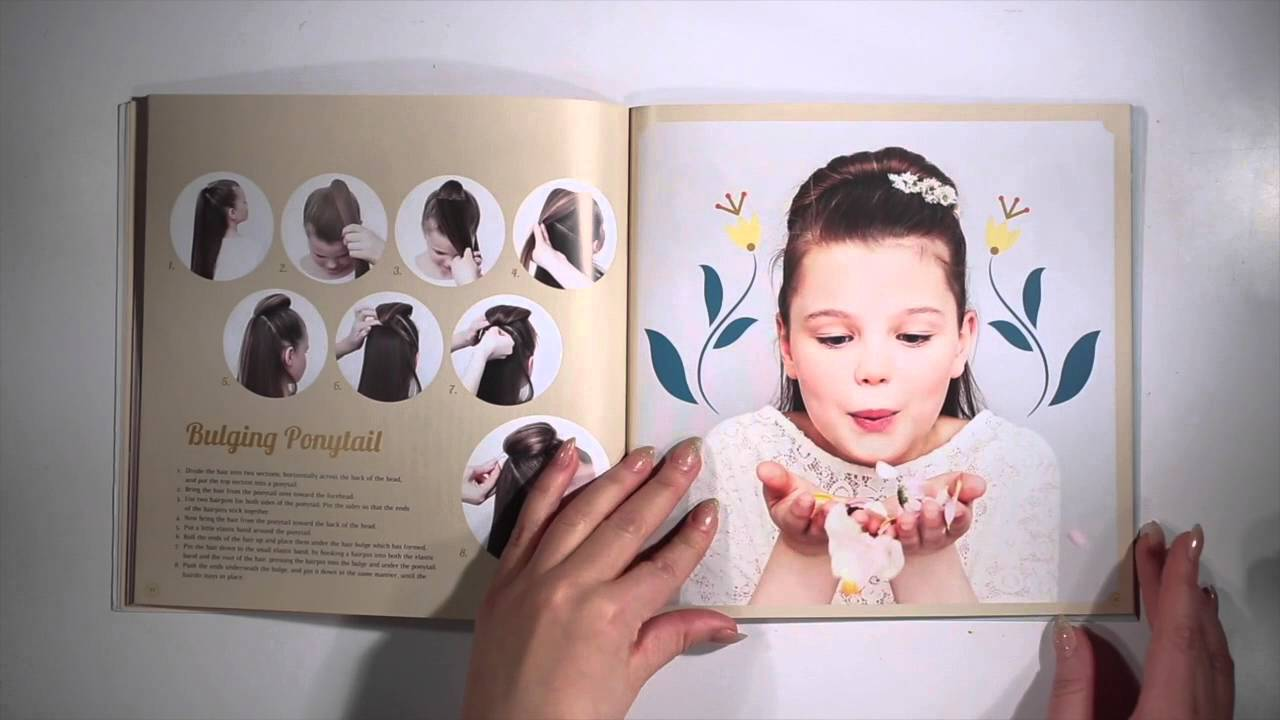 Disney Frozen Fever Hairstyles A Hair Tutorial Book For Little Girls By Theodora Mjoll Youtube