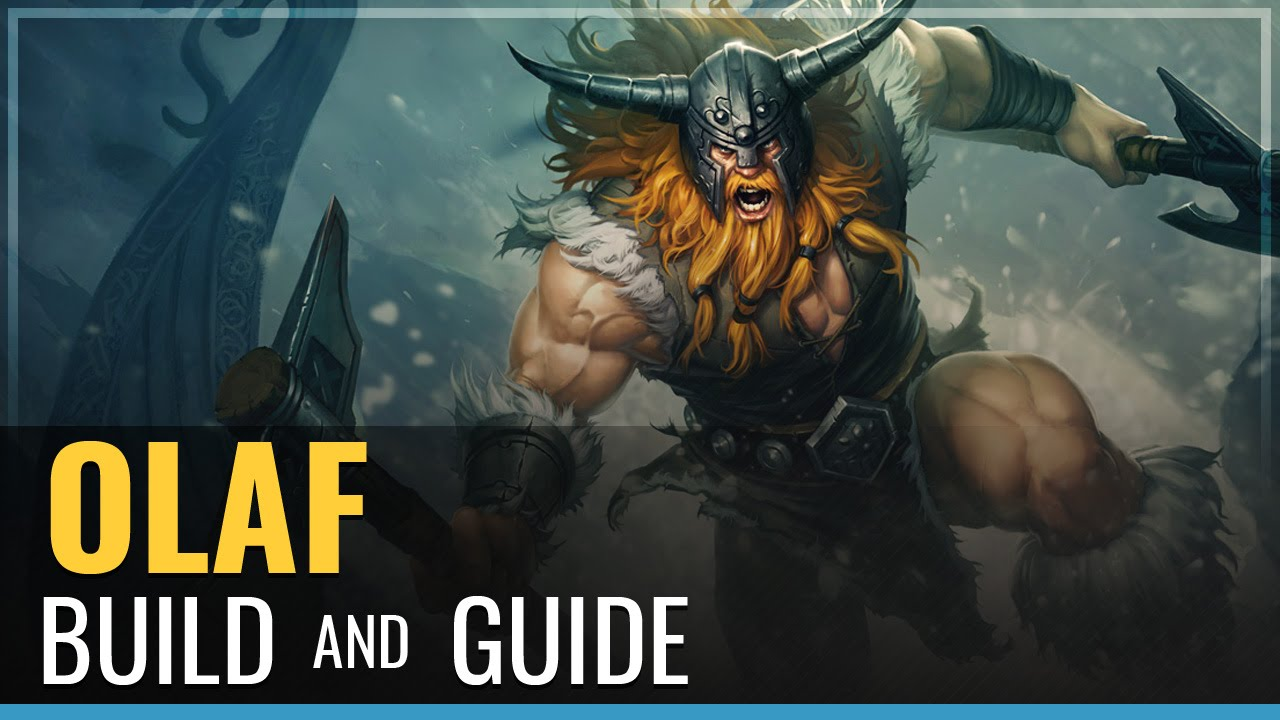 League of Legends - Olaf Build and Guide - YouTube