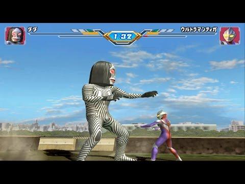 Sieu Nhan Game Play   Trận đấu Ultraman theo yêu cầu 21-12 #4   Game ultraman figting eluvation 3