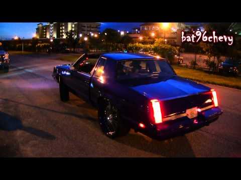 "Candy Purple Oldsmobile Cutlass on 24"" Asanti's Pt.2, Having Fun in Streets - 1080p HD"